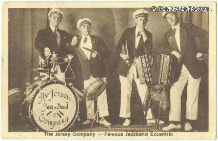 ansichtkaart: --, The Jersey Company - Famous Jazzband Excentrik