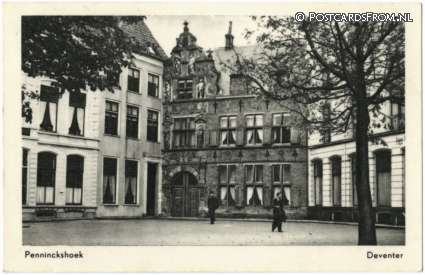 ansichtkaart: Deventer, Penninckstraat