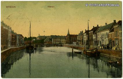 ansichtkaart: Breda, Haven