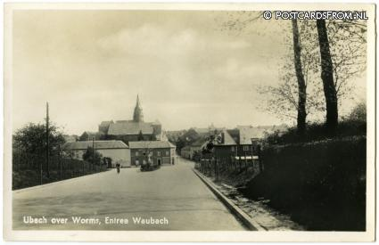 ansichtkaart: Ubach over Worms, Entree Waubach