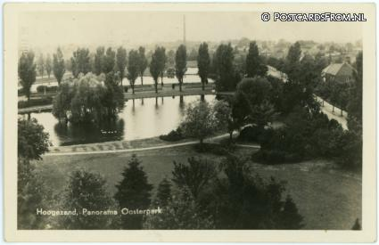 ansichtkaart: Hoogezand, Panorama Oosterpark